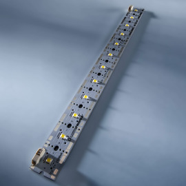 PowerBar V2 Module LED Aluminium ambre 617nm 1728lm 700mA 12x LED Osram Oslon SSL 24cm