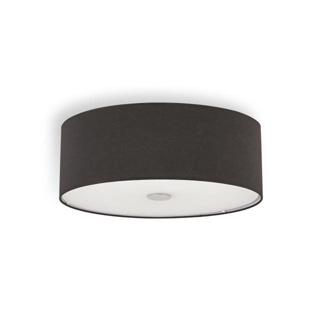 Ideal Lux WOODY PL4 NERO ceiling light