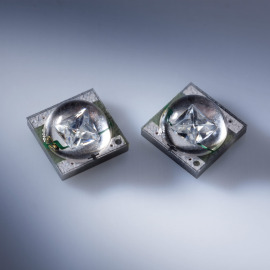 Cree XT-E SMD-LED, with platine (10x10mm), 500mW, bleu