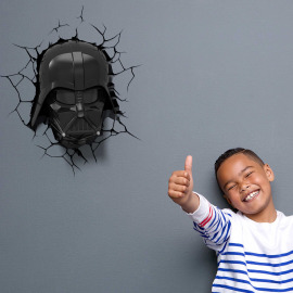 3D Lampe murale Star Wars Darth Vader Masquer