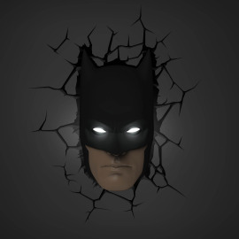 3D Wall light Batman Mask